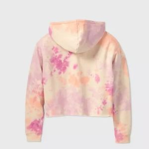 wild fable Tops - New! Pink Tie Dye hoodie, size small (wild fable)